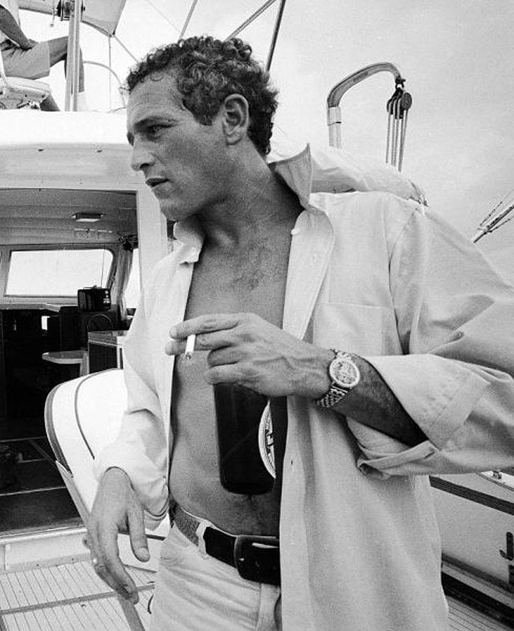 Paul Newman fotografiado por Mark Kauffman, 1967