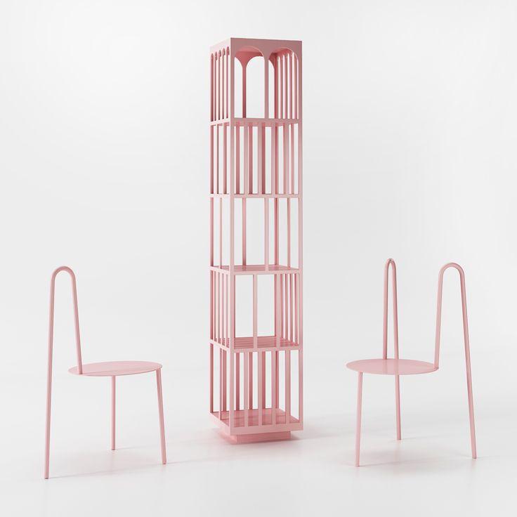 Pastel Furniture by Crosby Studios