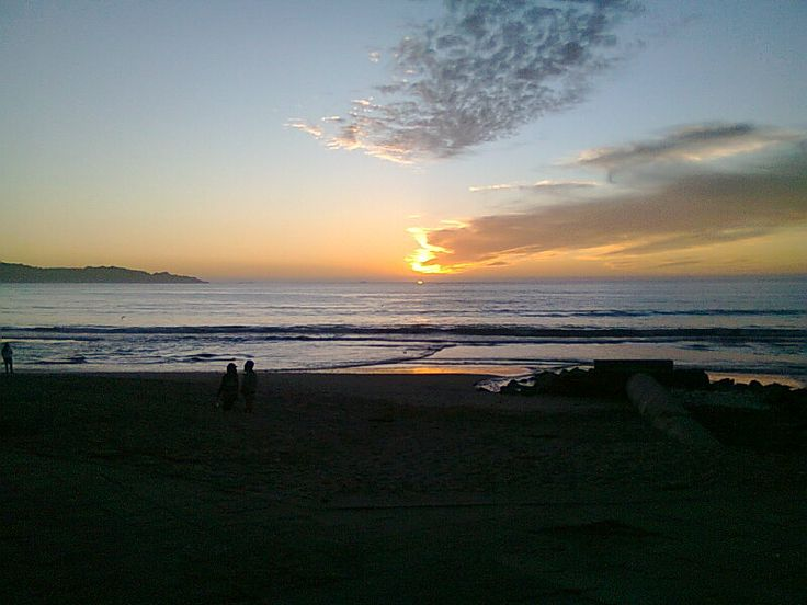 Sunset. La Serena