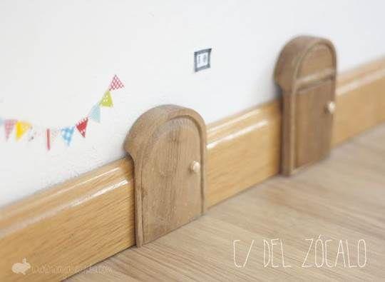 puerta-miniatura para el raton de los dientes!!!!