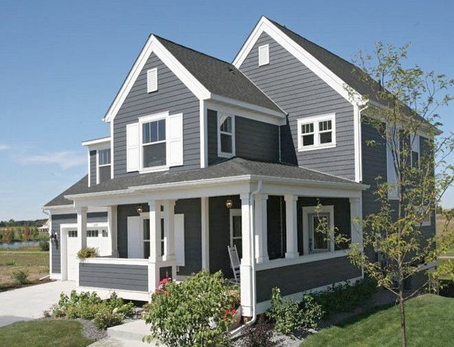 Gray Exterior Paint Colors Amazing Cityscape Sherwin Williams Sw U The Color Is Home Gray House Exterior House Paint Exterior Exterior Paint Colors For House