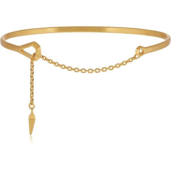 Maria Black Loop gold-plated bracelet.... i'm in love