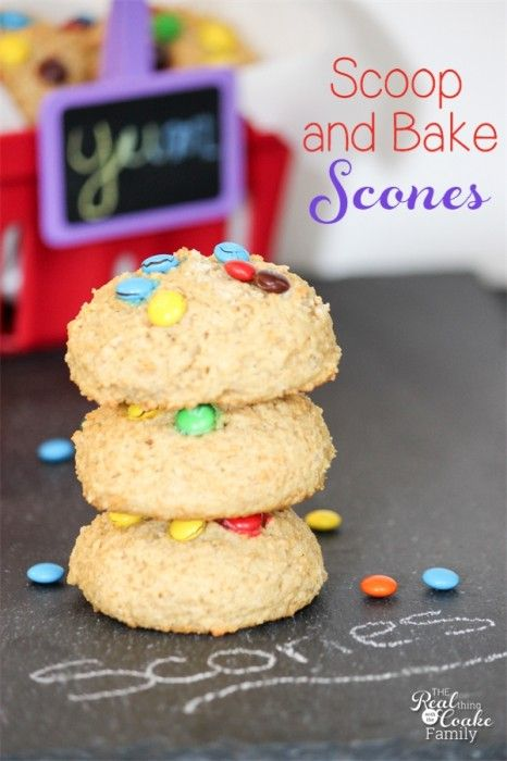 Scone recipes....yum! Make this easy scone recipe by scooping and baking rather than the traditional rolling and cutting of the scones.  #PledgeforEVOO #Ad