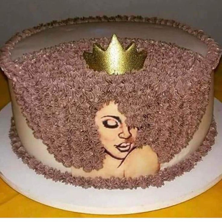 black queen afro cake events
