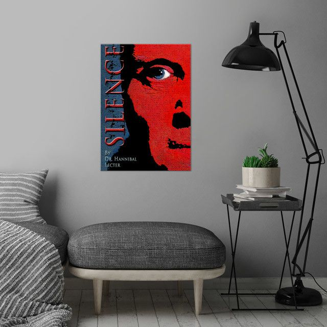26% OFF all products this weekend  Use code: SPRING26 . Silence of the Lambs  Movie Poster by Scar Design. #sale #sales #discount #thesilenceofthelambsposter #hanniballecter #movies #cinema #film #movieposter #red #books #bookworm #posters #gifts #giftideas #homegifts #39 #wallart #livingroom #decoration #home #homedecor #cool #awesome #giftsforhim #giftsforher