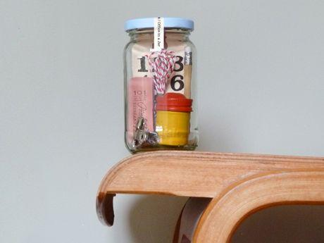 office in a jar.
