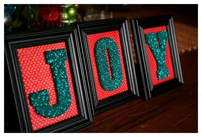 Lots of Christmas CraftsDiy Frame, Christmas Crafts, Idea, Frames Letters, I Love Christmas, Christmas Decorations, Holidays Decor, Glitter Letters, Pictures Frames