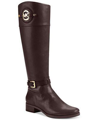 MICHAEL Michael Kors Boots, Stockard Tall Boots - Shoes - Macy's