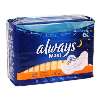 up to 30% discount Always Maxi Pads with Flexi-Wings, Overnight