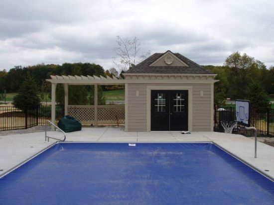 Pool House Bar Ideas custom michigan swimming pool by legendary escapes 112 Best Guest Cottage Design Ideas Images On Pinterest