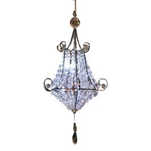 64 best shells and chandeliers images on pinterest chandeliers 1999 white mini led battery operated gazebo chandelier homehardware aloadofball Image collections