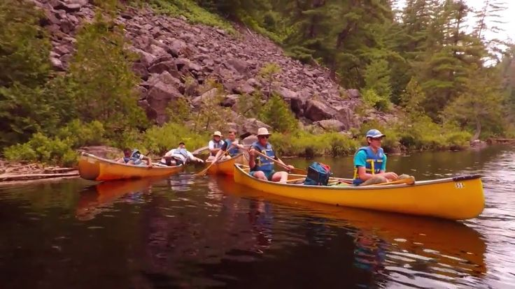 Yes! We made it to Barron Canyon at Algonquin Park (CSB Canoe Trip 2017 ...