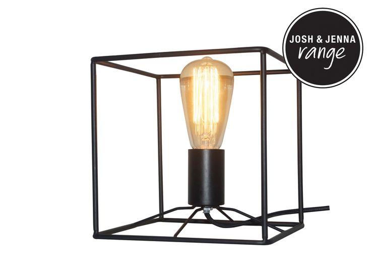 Itlas 1 Light Table Lamp in Black