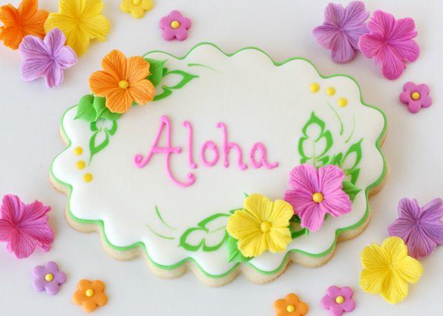 Como fazer fondant para decoração de bolos e biscoitos com tema Luau na Praia ~ VillarteDesign Artesanato