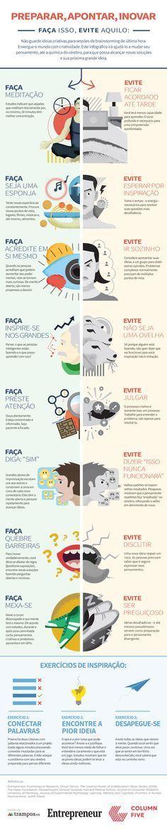 Infográfico: Como você está matando a sua Criatividade                                                                                                                                                                                 Mais