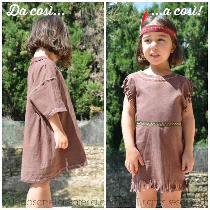 DIY Native American Dress Up
