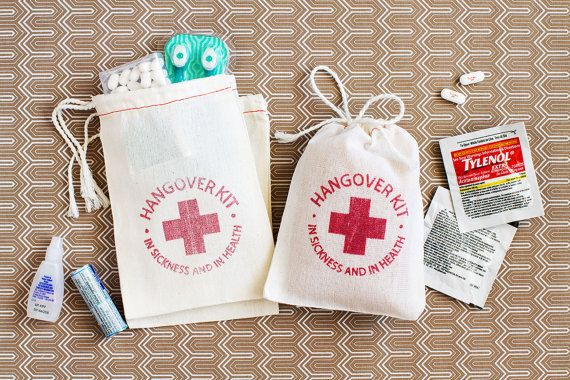 Hey, I found this really awesome Etsy listing at https://www.etsy.com/listing/186427699/hangover-kit-custom-quantity-4-x-6