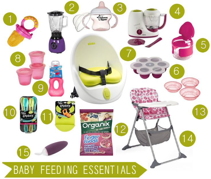 12:00 Noon - Lunchtime: Stock up for the new mom on Baby Feeding Essentials