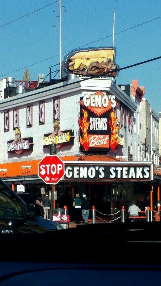 Geno's Stakes yummmm