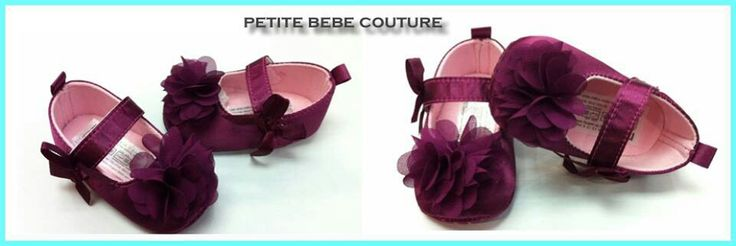 Princess lilly plum shoes