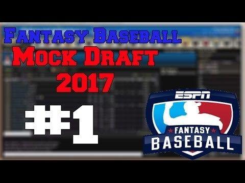 2017 FANTASY BASEBALL MOCK DRAFT | 1.0 - http://www.truesportsfan.com/2017-fantasy-baseball-mock-draft-1-0/