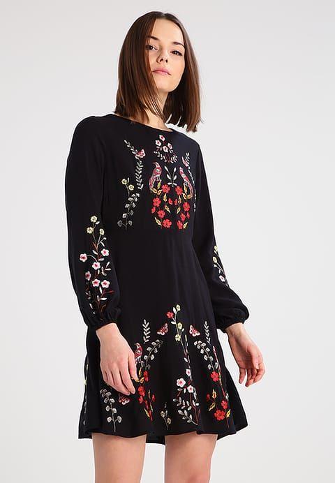 New Look Petite Sukienka letnia - black - Zalando.pl