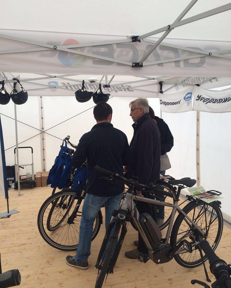 Instagram picutre by @steppenwolfbikes: Noch bis 18 Uhr sind wir am Marktplatz hier in Haldensleben zur Gewerbeschau HUPE! Kommt gern an unserem Stand vorbei wir beraten euch gern und bieten euch Testfahrten mit den Wölfen an!  #Gewerbeschau #HUPE #Haldensleben #Steppenwolf #Bikes #Fahrrad #biking #bicycle #bikeride #bikesofinstagram #bikestagram #bikeswithoutlimits #ebike #Testfahrten - Shop E-Bikes at ElectricBikeCity.com (Use coupon PINTEREST for 10% off!)