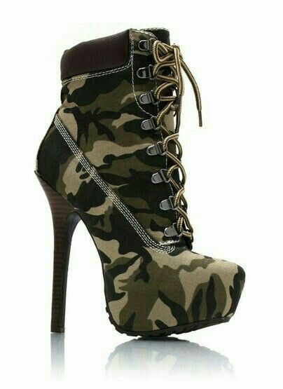 Army shoes for ladies,.. Wao beautiful