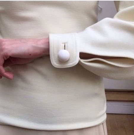 christophe lemaire dome self covered button