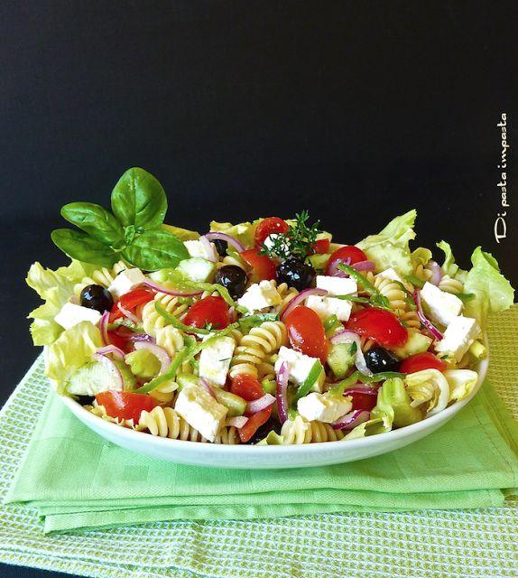 Di pasta impasta: Insalata di pasta fredda alla greca