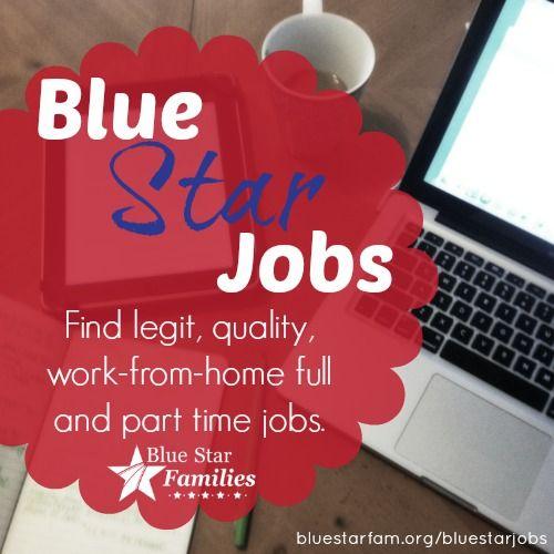 Milspouse Employment Blue Star Jobs Work From Home Virtual Employment Find More Employment