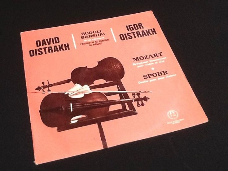 Vinyle 33 tours Mozart Symphonie  David Oistrakh,  Igor Oistrakh