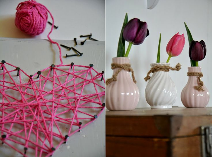 Lola's Welt: Super-Lastminute Muttertags DIY & Friday Flower Day