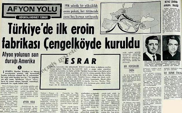 Tarihimizin En İlginç Olaylarından Biri: İstanbul'da Kurulan 3 Eroin Fabrikası - Ekşi Şeyler