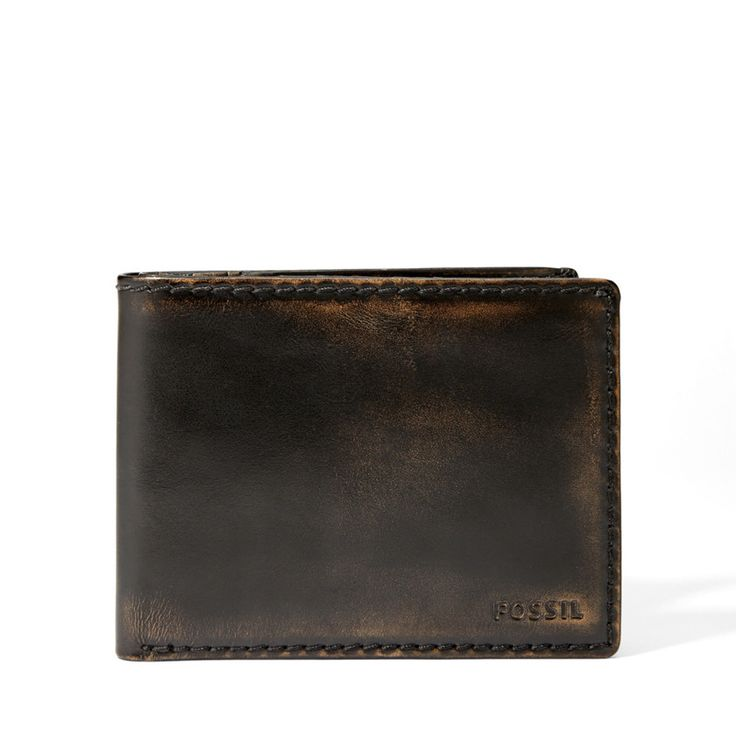 Fossil Carson International Slim Bifold Wallet