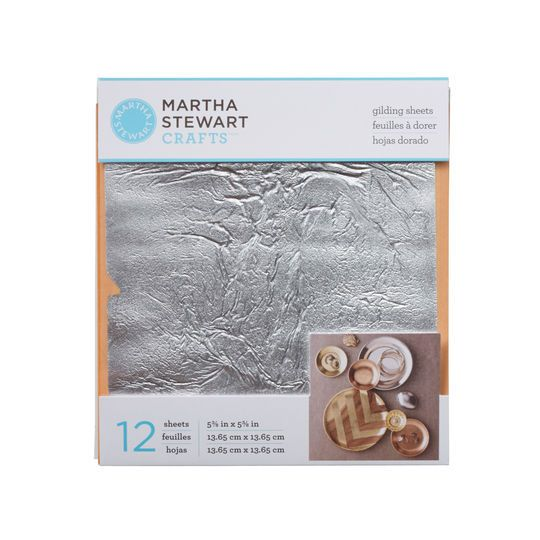 Martha Stewart Crafts® Decoupage Gilding Sheets