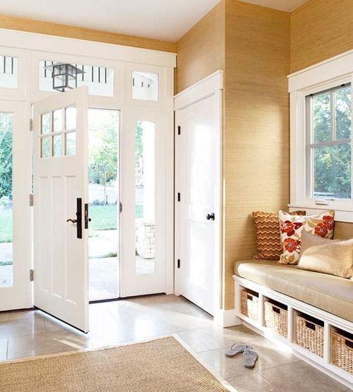 Front Foyer Storage Ideas : Best doors porches images on pinterest front