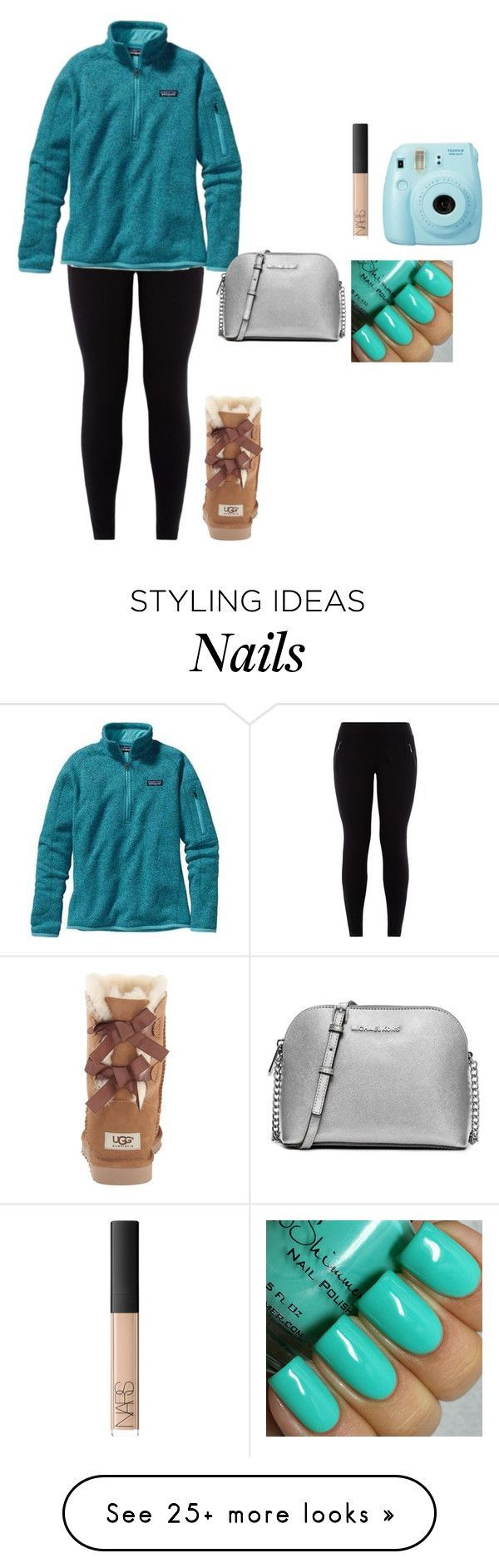 """Untitled #1026"" by jackelinhernandez on Polyvore featuring NARS Cosmetics, Patagonia, UGG Australia, MICHAEL Michael Kors, women's clothing, women's fashion, women, female, woman and misses"