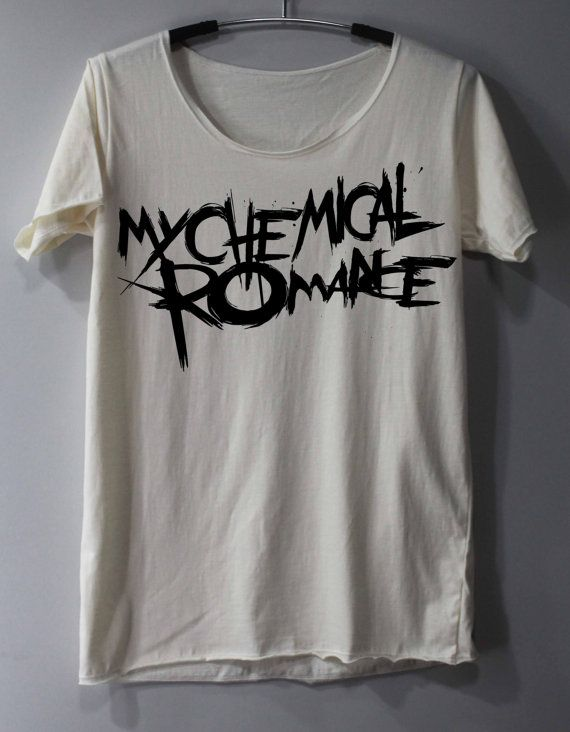 My Chemical Romance Shirt Alternative Rock by ThinkingGallery, $15.00 I want