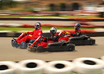 go karting race - outdoor karting #stagdo #tallinn