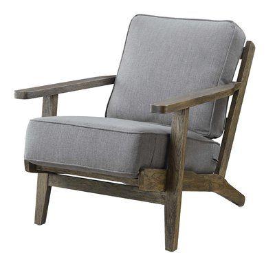 Best Laurel Foundry Modern Farmhouse Clora Armchair Armchair 400 x 300