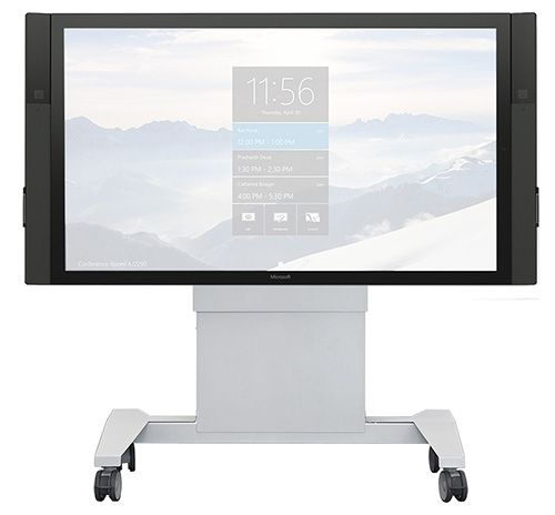 SYZ90-XL Mobile Lift Stand For Single Extra Large Monitors