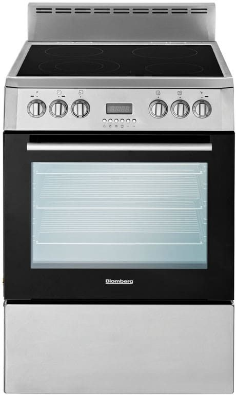 Blomberg BERU24100SS 24 Inch Freestanding Electric Range With 2.3 Cu. Ft.  True Convection Oven