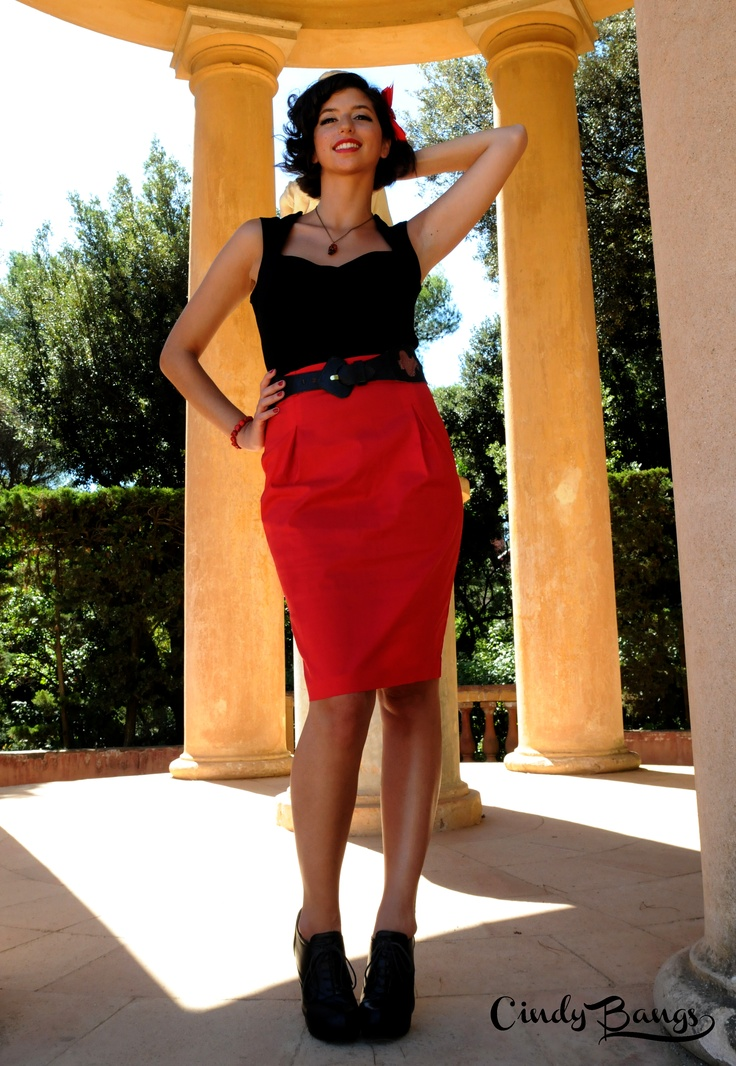 Maria Top & Michelle skirt. s/s 2012