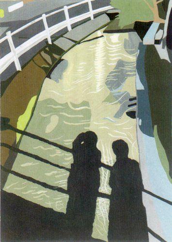 人影。2011年6月。OPAギャラリー「水景」展。