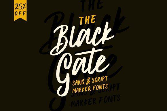 Black Gate - 25%OFF by Angga Mahardika on @creativemarket