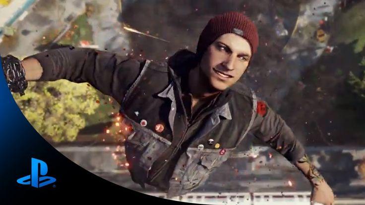 inFAMOUS Second Son - E3 Trailer (PS4)   E3 2013