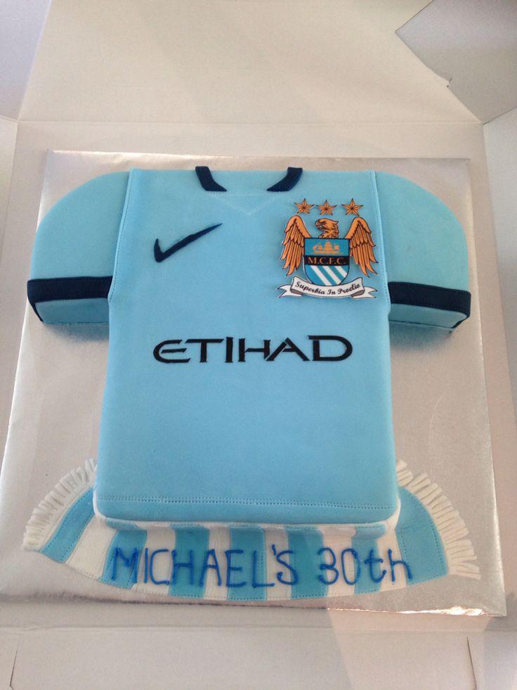 Manchester City Cake In 2019 City Cake Cake Birthday