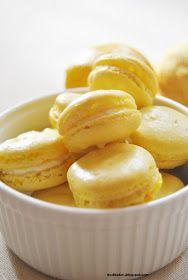 dust bakes: Cytrynowe makaroniki
