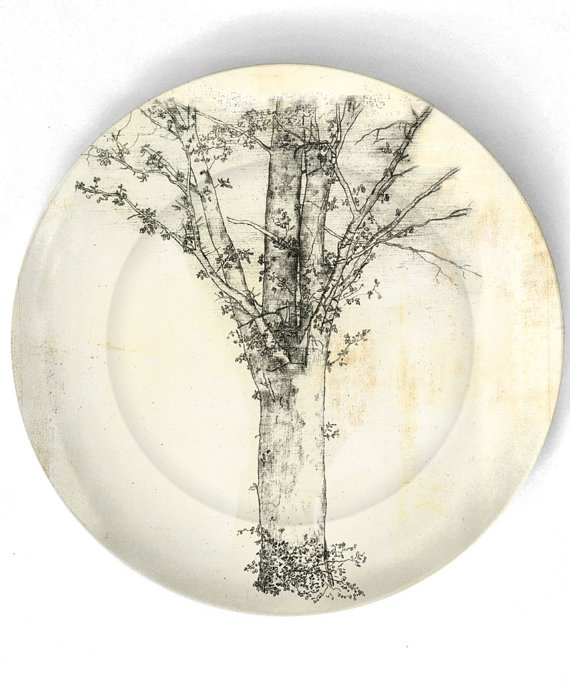 Very pretty plates from TheMadPlatters on etsy